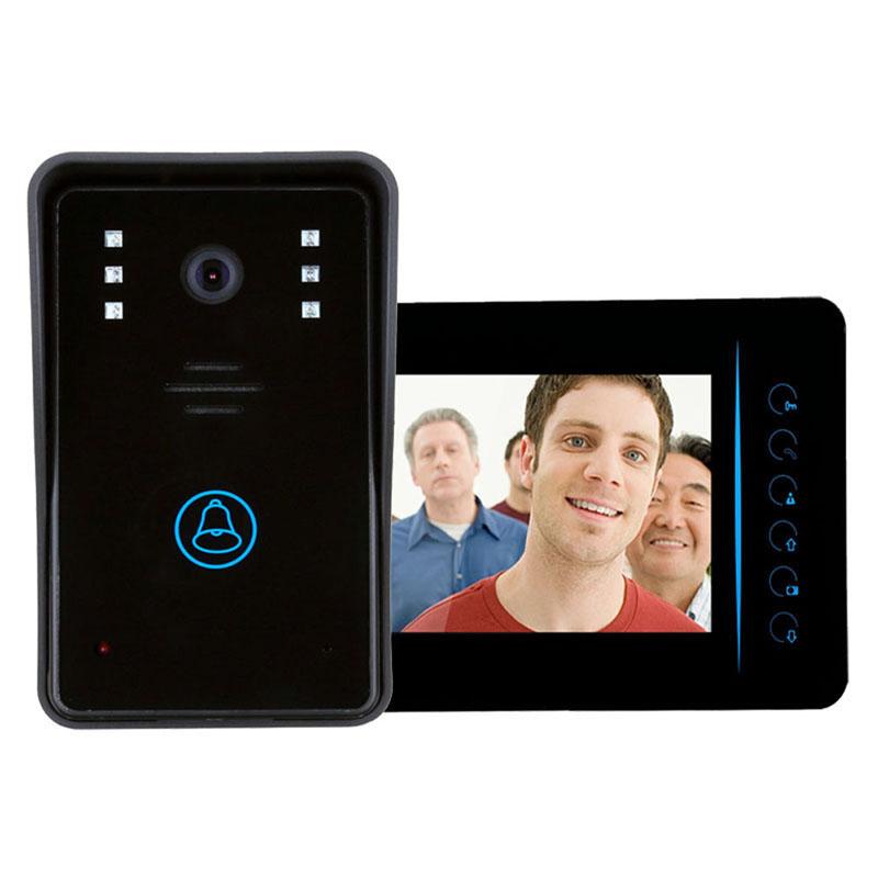 "Гаджет   wireless intercom  7""TFT Wireless Video Door Phone Intercom Doorbell Home Security Camera Monitor  None Аппаратные средства"