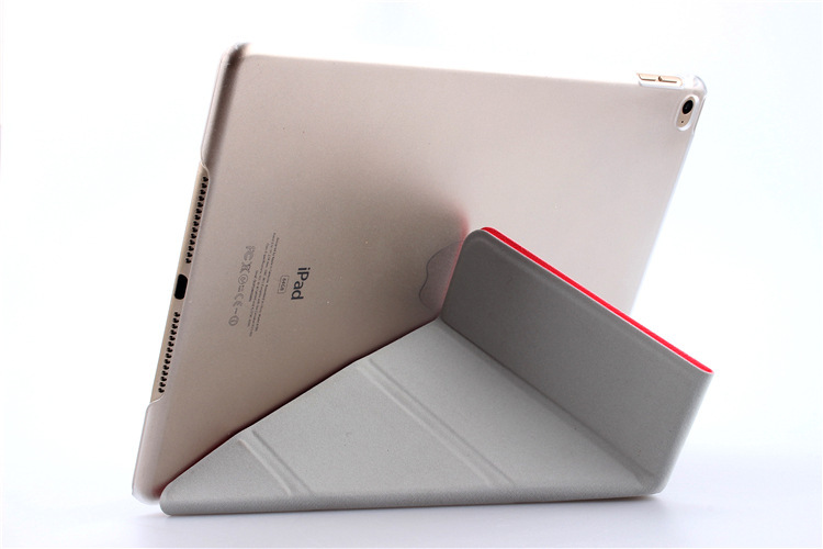4 Shapes Stand Design Magnetic Leather Case for ipad 4 3 2 Smart Cover for Ipad Mini 3 2 1 Utrathin Fashion for Ipad Air Air 2(China (Mainland))