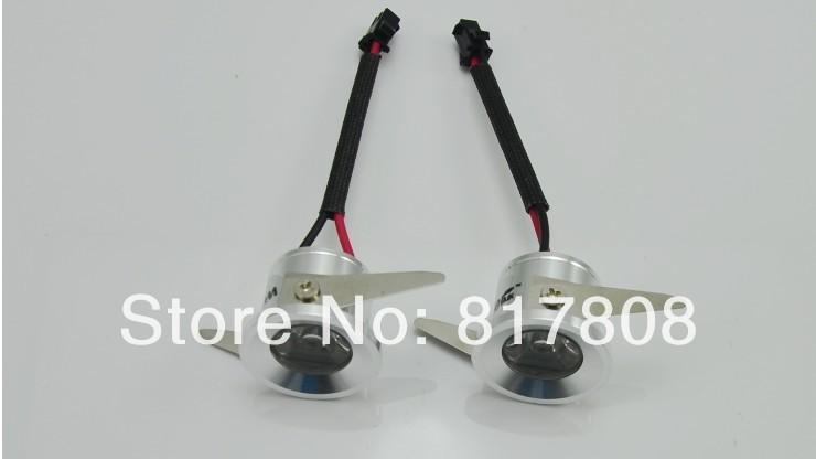 16PCS/lot 3W Mini LED Downlights Dimension:32*H22MM ,Openings:28MM;AC85~265V cabinet light free shipping(China (Mainland))