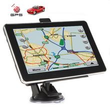 hotselling 5 Inch High-sensitivity Car GPS Navigation Support MP3, MP4, FM