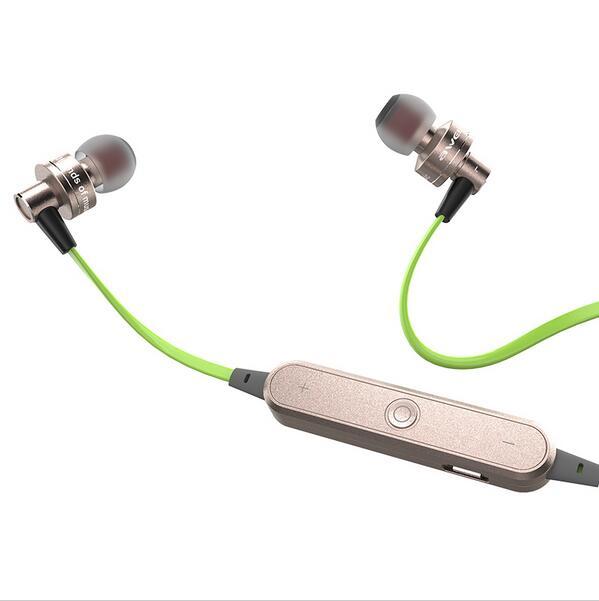 Original Awei A990BL Bluetooth 4 0 Wireless Sports Sweatproof design Earphone with Handsfree Volume Control Songs