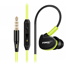 Sport Headphones Waterproof Earphones Running Sweatproof Stereo Bass Music Headset With Mic For All Mobile Phone