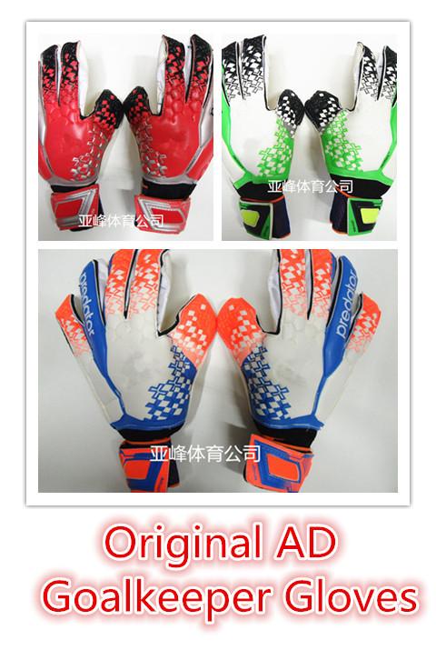 Original Brand AD Predator Allround Latex Football Goalkeeper Gloves Goalie Soccer Bola De Futebol Gloves Luva De Goleiro (China (Mainland))