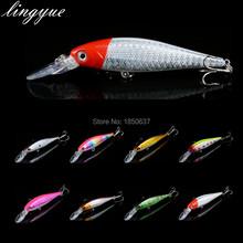 Quality 1PCS Hard Long Lip Deep Diving Minnow Lures 10cm 8g Fishing Bait 3D Eyes Treble Hooks 8colors Fishing Tackle