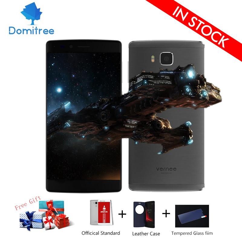 Vernee Apollo Lite Cellphone 4G LTE 5.5 inch FHD 1080p Android 6.0 4GB 32GB MTK6797 Deca Core 16.0MP Fingerprint ID Smartphone(China (Mainland))