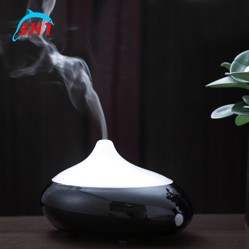 Water-Drop LED Light Ultrasonic Aroma Humidifier USB Air Diffuser Atomizer For Home Office Use Mini Car Humidifier Air Purifier(China (Mainland))