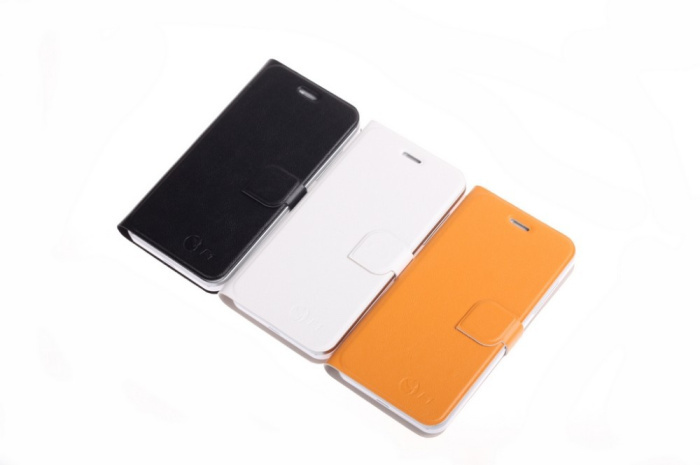 Original leather case for jiayu F1 Phone BLack, white, Brown(China (Mainland))