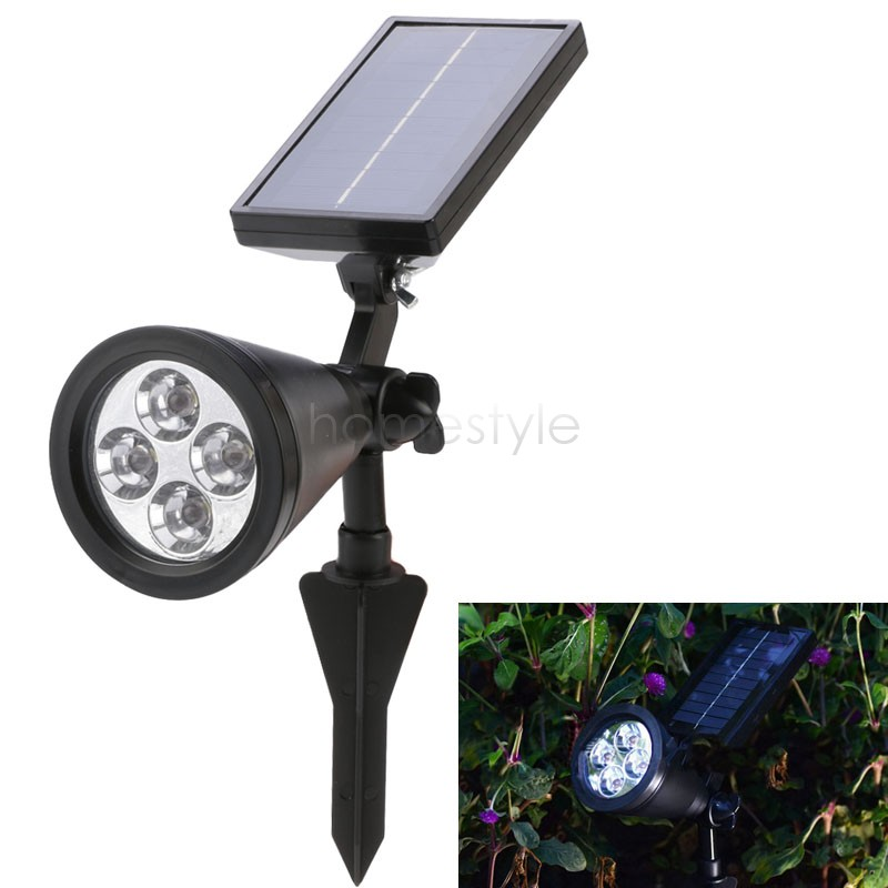 Outdoor Led Solar Powered Garden Light Path Yard Lawn Land Landscape Solar Spotlight Lamp 24(China (Mainland))