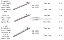 Free Shipping 10pcs 10 22mm SMS 150S Quick Release Speedpin Spring Bars for Watch Band Replacement