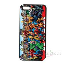 For iphone 4/4s 5/5s 5c SE 6/6s 7 plus ipod touch 4/5/6 back skins cellphone cases cover All Stars Superhero Avengers Iron Man