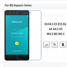 Buy Premium Tempered Glass Screen Protector Guard Film Bq Aquaris E4 E4.5 E5 E5S E6 A5 M4.5 M5 M5.5 A4.5 X5 Phone Cover Case for $1.43 in AliExpress store