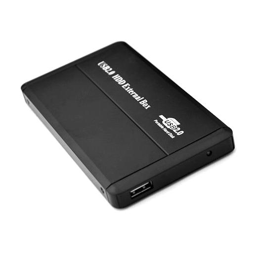 1Tb external usb sata 2.5 inch hdd case 2.5 sata encolsure aluminum hdd box black 2.5 hard disk enclosure(China (Mainland))