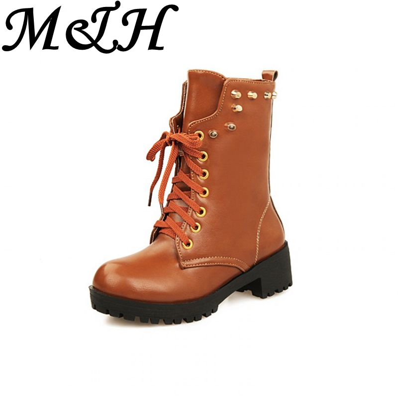 Lined Boots H&m M&h New Arrival Women Boots