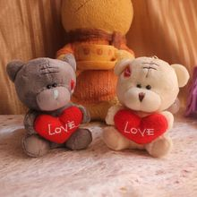 20piece/lot 9cm lovely exquisite small plush toy teddy bear,Wedding Bouquet,Promotion Gifts(China (Mainland))