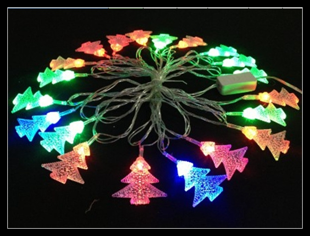 String Christmas Tree Lights Vertically : Christmas Tree led string light outdoor decortion lighting RGB flashlight 4M 20led AC220V or ...