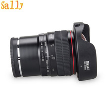 Buy Meike 8mm f/3.5 Wide Angle Fisheye Lens Sony Alpha Nex Mirrorless E-Mount Camera APS-C for $199.99 in AliExpress store