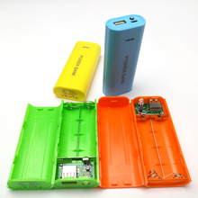 (No Battery) 7 Colors Power Bank DIY Box Shell Power Motherboard Kit Powerbank Box 2×18650 Battery Pack