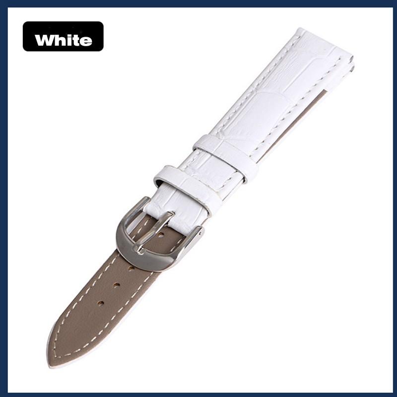 Leather Watch Strap 20mm 22mm Watchband Men Women Clock Accesories