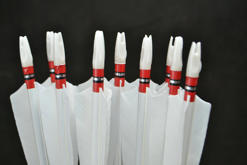 12x Handmade Wooden Arrows Turkey feather for 25 50lbs Longbow Recurve Bow Hunting Archery for 80cm
