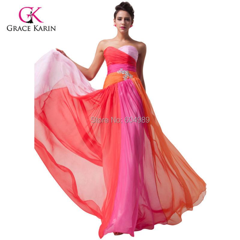 Платья Цветные Фото