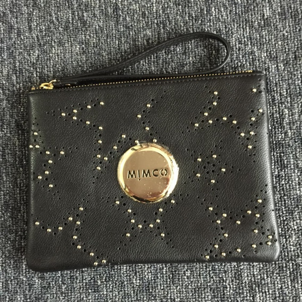 new arrived Mimco Medium Lovely pouch FAIRGROUND STUD POUCH  BLACK<br><br>Aliexpress