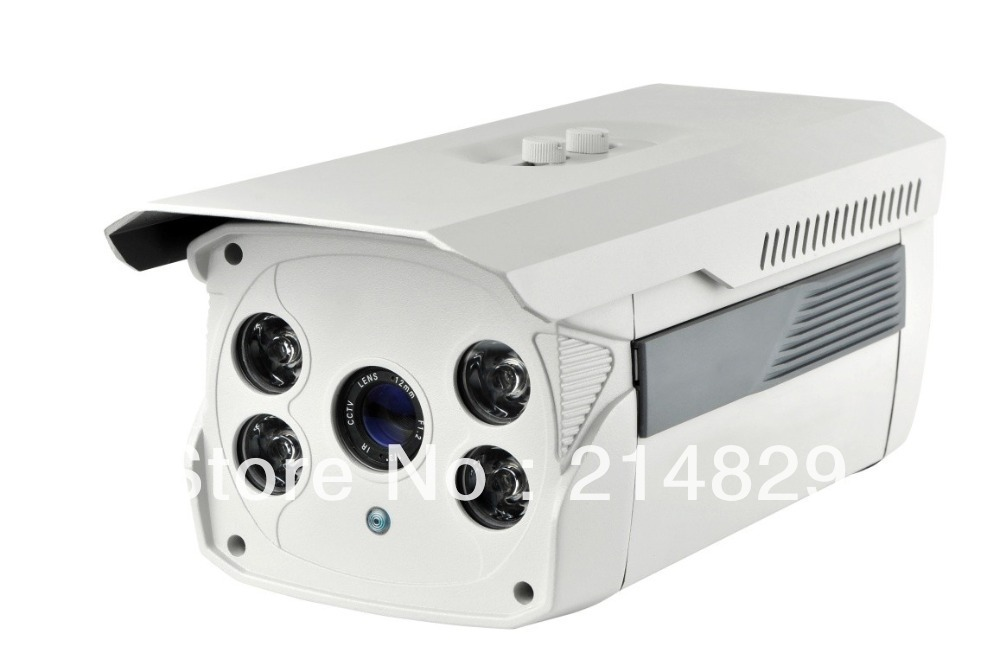 HD 720P MegaPixel 4pcs ARRAY LED IP Internet Security Outdoor Camera CCTV Webcam Visited by Iphone,Andriod, Blackberry,etc(China (Mainland))