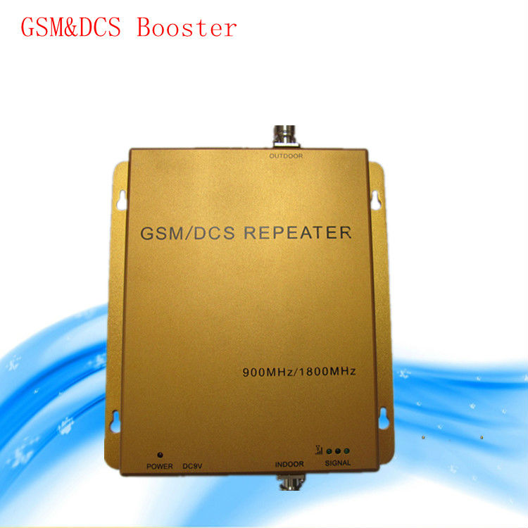 Real 70dB GSM 900/2100 Mobile Phone Signal Booster Repeater Wireless Amplifier Dual band(China (Mainland))
