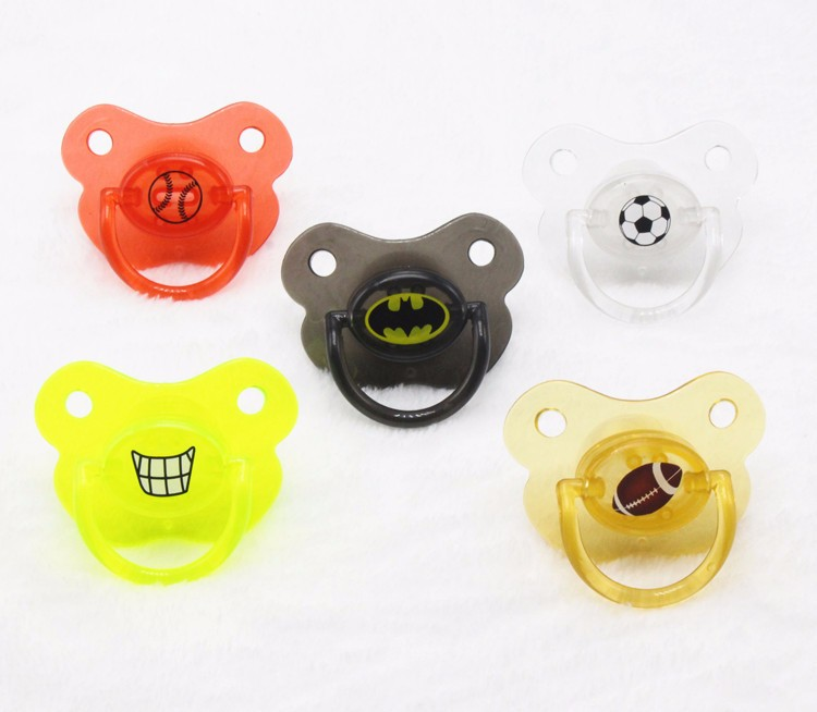Pacifiers for Children Silicone Funny Baby Pacifier Halloween Soothers Newborn Pacifiers Baby Nipple Teeth Pacifier for Children