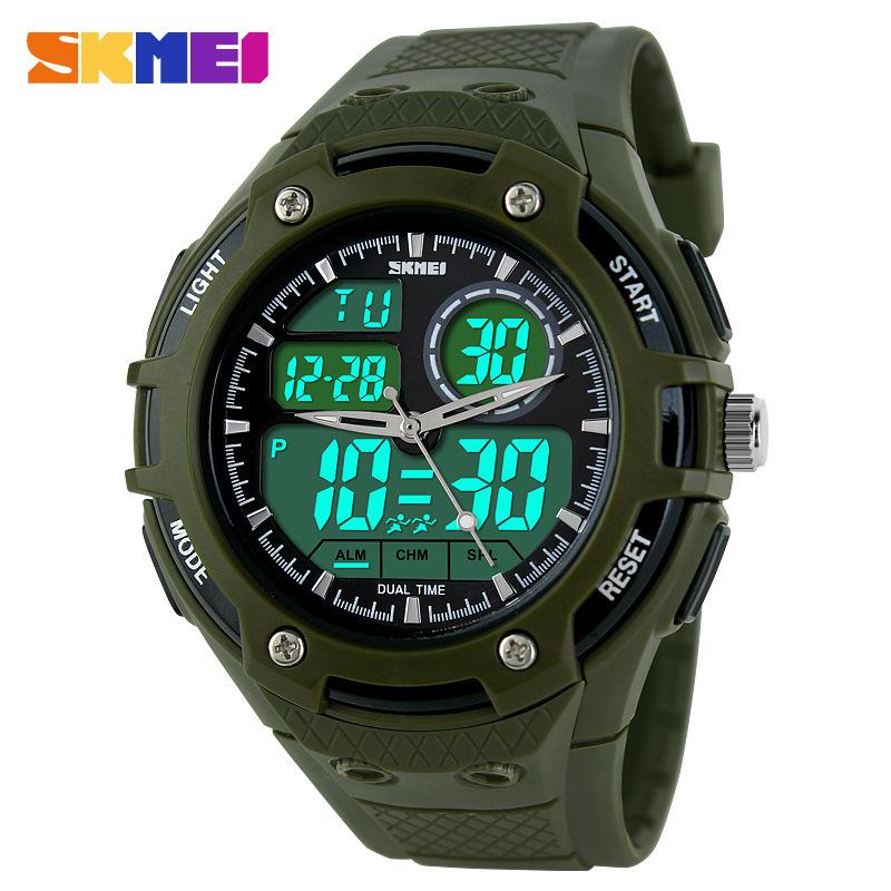 2014 sport watch Men brand watches clock outdoor quartz led digital casual women dress watches military swim men wristwatches <br><br>Aliexpress
