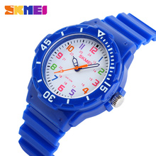 2015 New Skmei Children Watch Fashion Casual Quartz Watches Waterproof Jelly Kids Clock boys Hours Students Dress Wristwatches