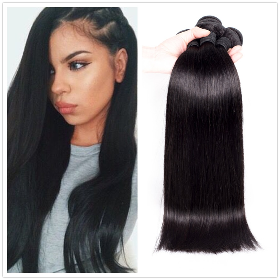 ms lula hair hot sell brazilian straight hair extension 3 pcs/lot Mix 12-28 free shipping no tangle no shedding hair weaves<br><br>Aliexpress