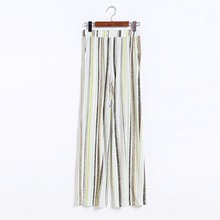 XL-9XL Large size Women Striped Wide Leg Pants Long Trousers Big Plus Size Women Clothing 4XL 5XL 6XL XXXXL 2016 Spring Summer(China (Mainland))