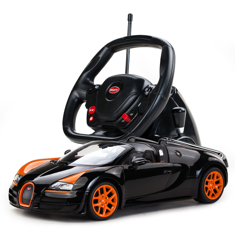 Star Bugatti steering wheel remote children's toys car, remote control cars,RC CARS