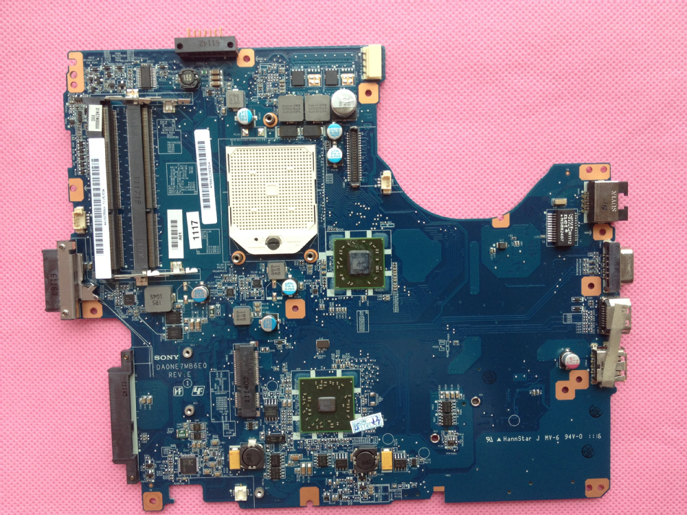 FOR SONY VPCEE 4E1E Laptop motherboard FOR AMD 2009 CPU DAONE7MB6E0 REV:C 100% Tested Perfect Working(China (Mainland))