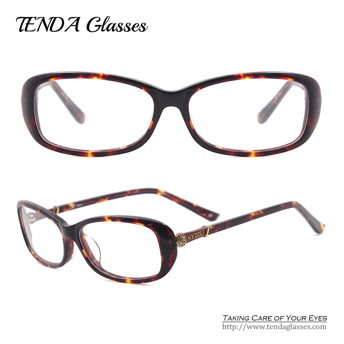 women designer eyeglass frame acetate oval spectacles for prescription glasseschina mainland