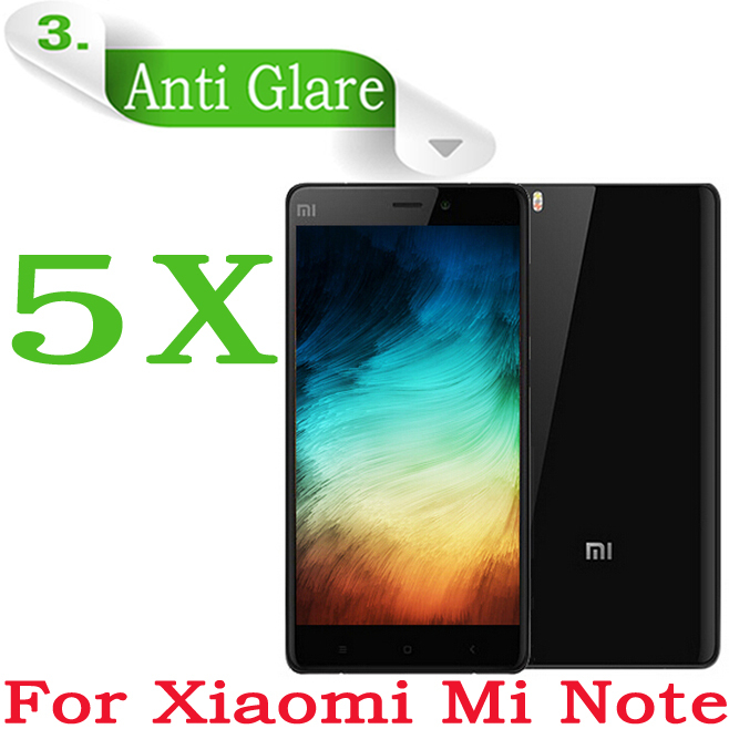 "5pcs MATTE Anti-glare LCD Film Xiaomi Mi Note Pro Protective Film 5.7""Xiaomi Mi Note MiNote Note Pro Cell Phone Screen Protector(China (Mainland))"