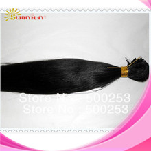 Malaysian virgin hair weft silk straight unprocessed human hair extension high quality hand tied weft(China (Mainland))