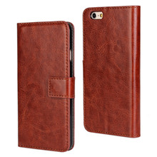 Flip Leather Mobile Phone Case For iPhone 6 6S 4.7 / 6 6S Plus 5.5 inch Wallet Cover Cases for Apple iPhone6 With Card Slot
