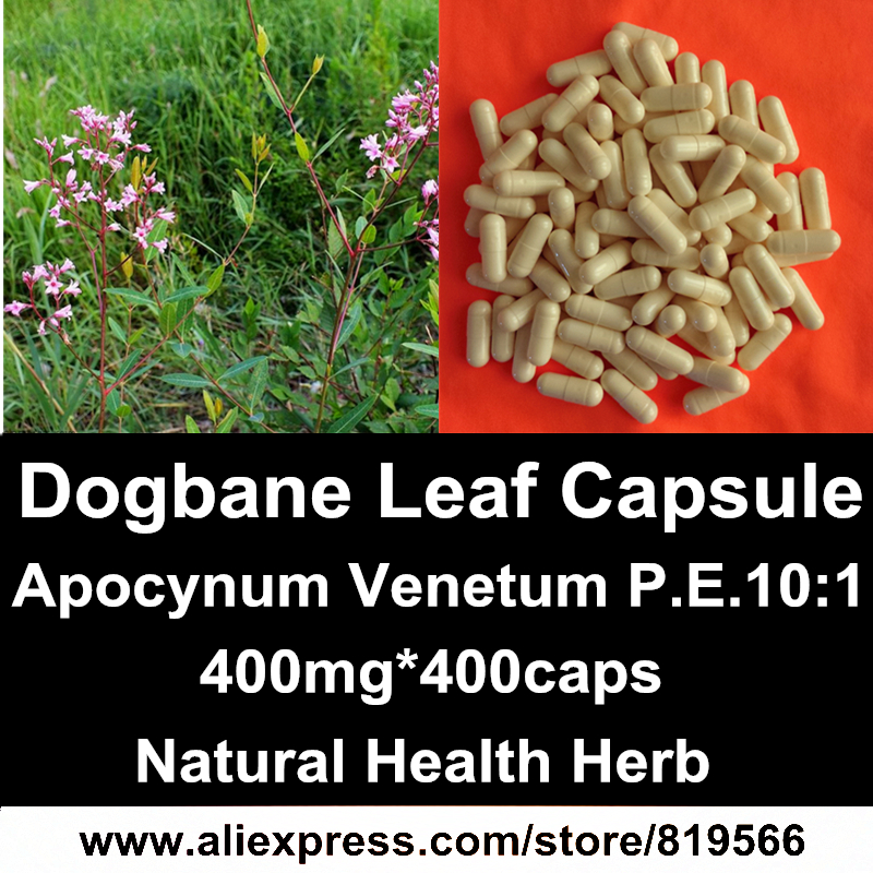 Wild Dogbane Leaf Extract Powder Capsules Natural Apocynum Venetum Caps Health Care Hypertension Dietary Supplements<br><br>Aliexpress
