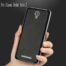wholesale price Top Quality Luxury Battery replacement Case For Xiaomi Redmi Note 2 Mobile Phone Shell no full tracking