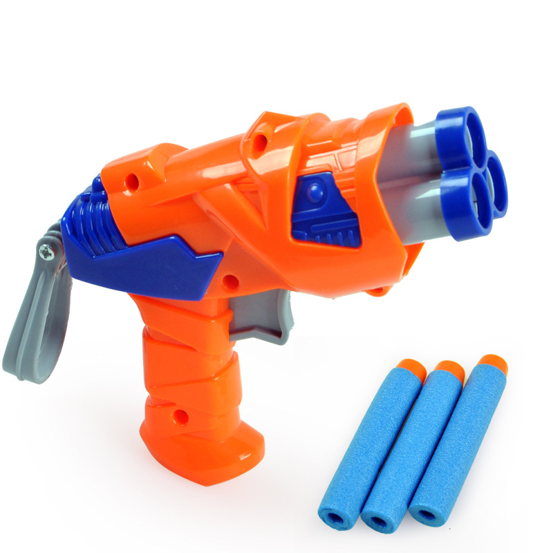 Guns For Boys Christmas Toys : Pcs head plastic nerf gun gift for boys girls bullet