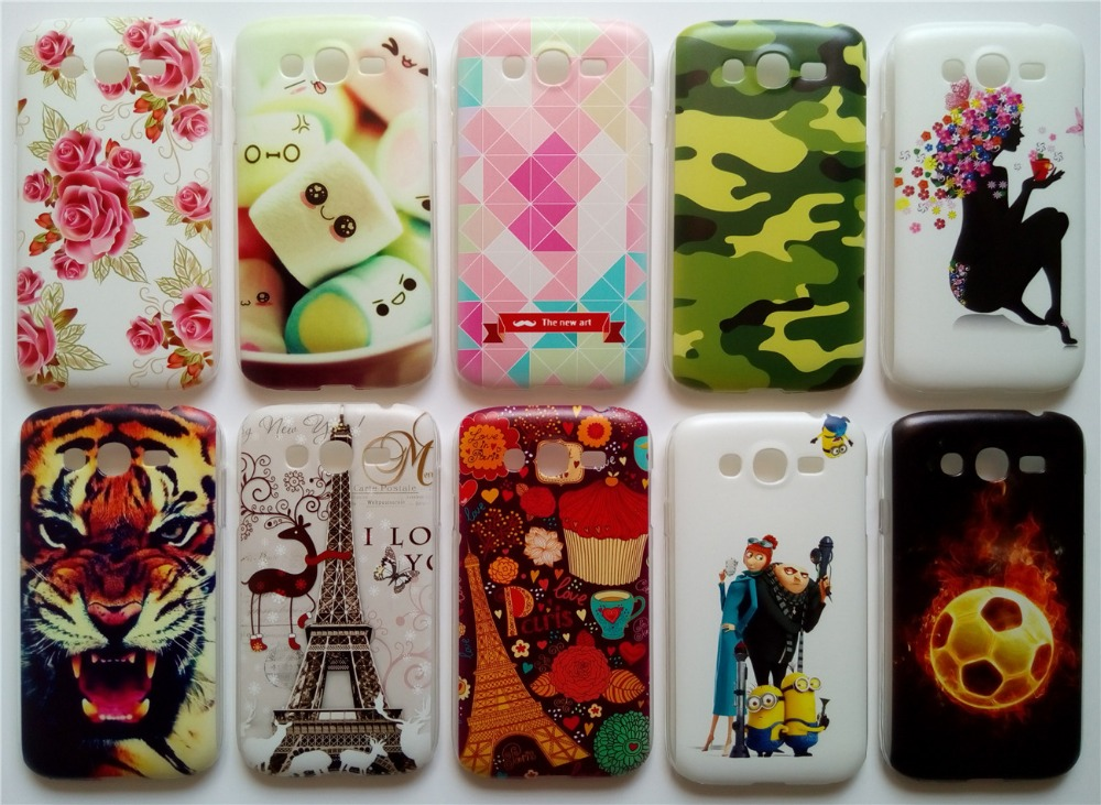 New Arrival Back Cover Case For Samsung Galaxy Grand Duos i9082 9082 I9060 9060 Hard PC Plastic Back Case Many Patterns Choose(China (Mainland))