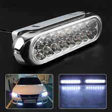 One Pair Car Daytime Running Light LED