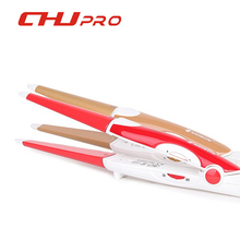 2016 Brand Professional 2 in 1 Hair Curler & Straightener Straightening Irons Ceramic Curling Iron Hair Styling Tools 110V-240V(China (Mainland))