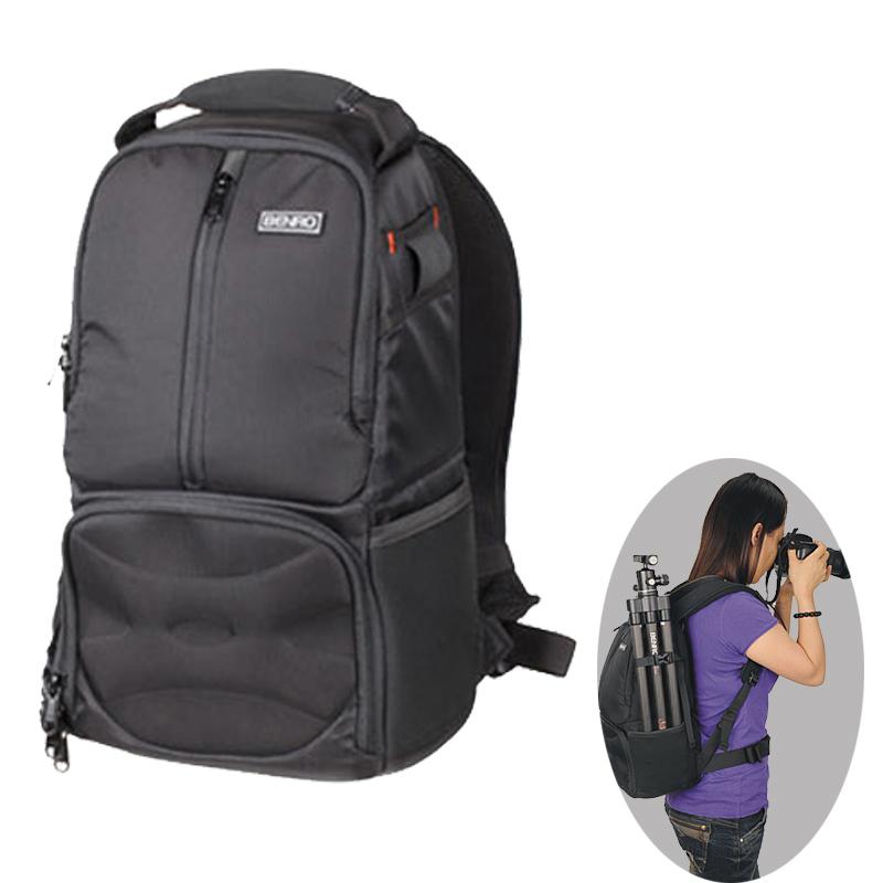 Benro Journo 100 Backpack Camera Bag Professional Nylon Waterproof DSLR Camera Bag Case For Canon Nikon Camera DHL Free Shipping<br>