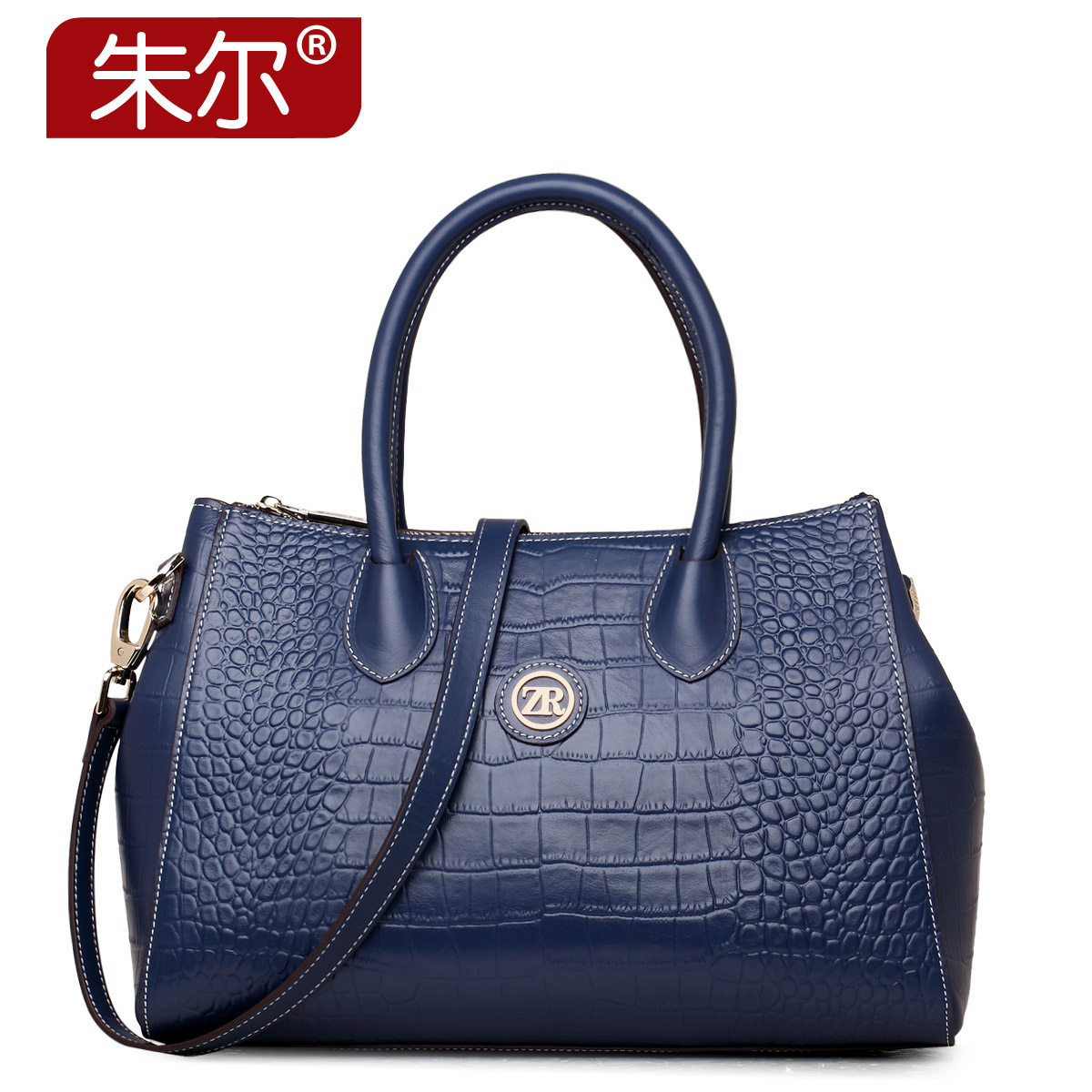 2015 autumn and winter women's cowhide handbag fashion women's bags for Crocodile female handbag