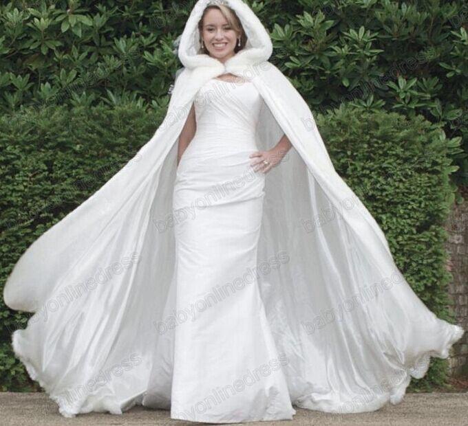 2015 femmes manches longues fausse fourrure veste de mariage bolero winer de mari e mariage cape - Manteau mariage hiver ...