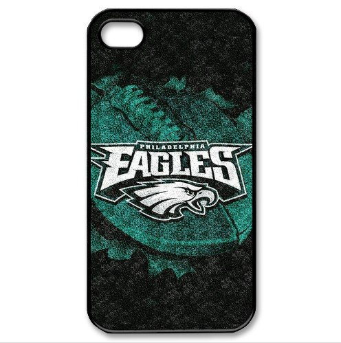 NFL Philadelphia Eagles Case Cover For iphone 4/4s Cases Eagles logo(China (Mainland))
