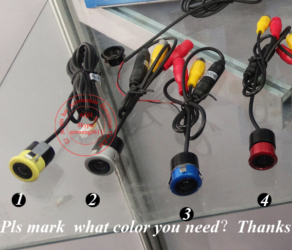 Hot Selling Free shipping HD Color CCD universal Camera Car parking camera Car rear view Best Night Vision Camera(China (Mainland))