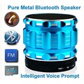 New Styel Portable Bluetooth Speaker Metal Subwoofer Wireless Speaker Build in Handfree Mic TF Card Slot
